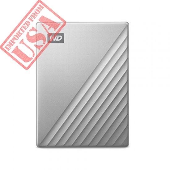 WD 2TB My Passport Ultra for Mac Silver Portable External Hard Drive online in Pakistan