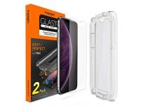 Original Spigen Tempered Glass Screen Protector for iPhone Xs Max Sale in Pakistan