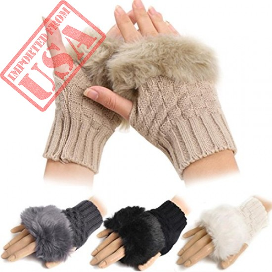 Shop online Best Quality Wrist Warmer Fingerless in Pakistan