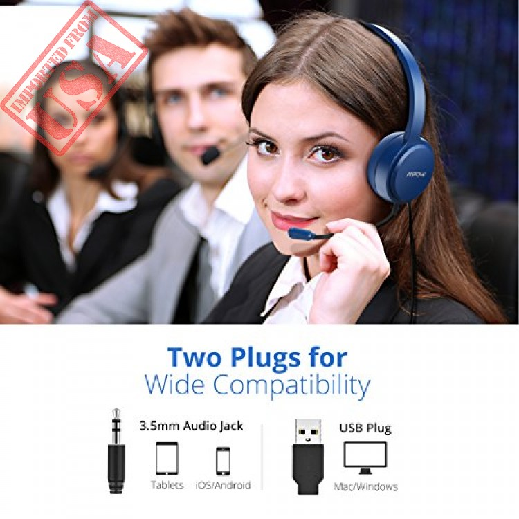 mpow 071 computer headset with microphone noise cancelling shop online in  pakistan b5d7d5065a