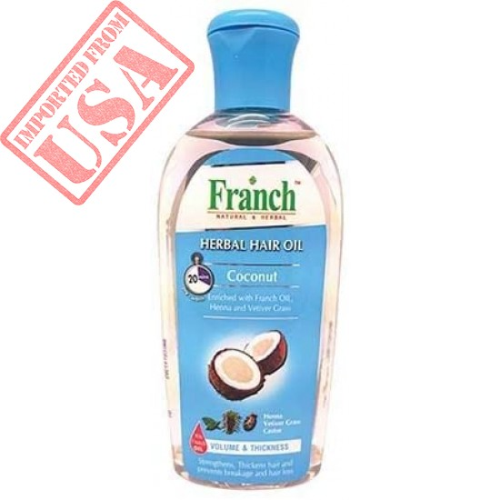 #MC FRANCH Herbal Hair Oil Coconut - Prevent Breakage and Hair Loss Sale in Pakistan