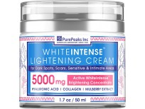 White intense Lightening Cream For Dark Spots, Scars, Sensitive & Intimate Areas in Pakistan