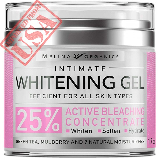 Buy Original Imported Intimate Whitening Gel by Melina Organics Online in Pakistan