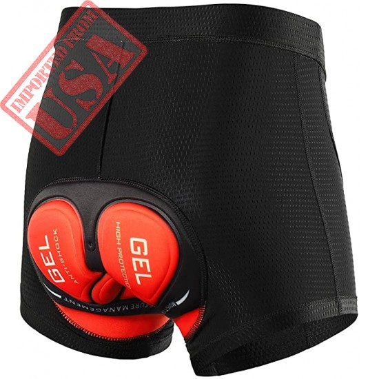 Lixada Men's Cycling Shorts 5D Padded MTB Bicycle Bike Underwear Shorts Breathable Quick Dry Shorts Sale in Pakistan