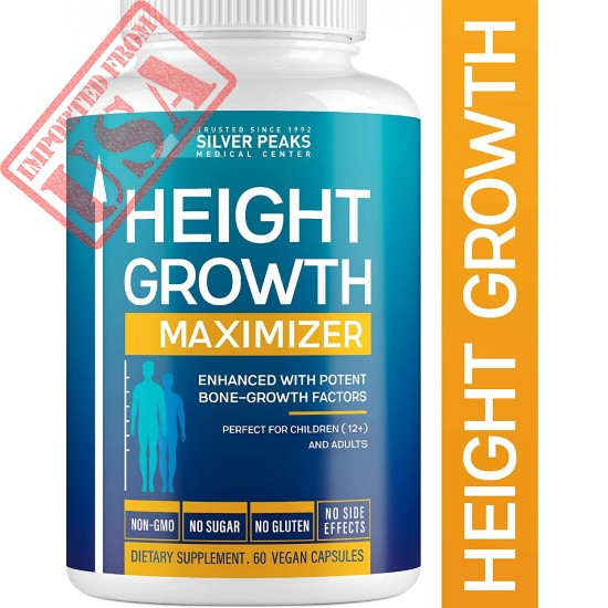 Height Growth Maximizer - Natural Height Pills to Grow Taller - Made in USA Sale in Pakistan