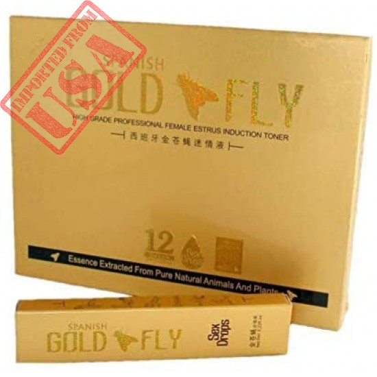Original Spanish Gold Fly | Female Sexual Arousal Sex Drops | Sexual Enhancer Liquid Drops for Women Online in Pakistan