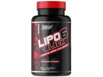Nutrex Research Lipo-6 Black Extreme Potency | Powerful Weight Loss Suppliment, Appetite Suppressant, Energy Fat Burning Diet Pills, 120 Count
