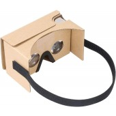 Cardboard VR by IHUAQI 2 Pack with Headstrap Fully Assembled Compatible with Android and iPhone Up to 6 inch Including Comfortable Nose Foam and Forehead Pad