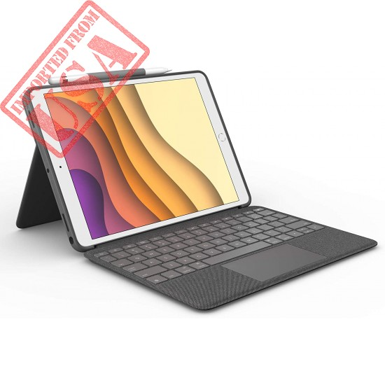 Logitech Combo Touch for iPad Air (3rd Generation) and iPad Pro 10.5-inch Keyboard case with trackpad, Wireless Keyboard, and Smart Connector Technology - Graphite