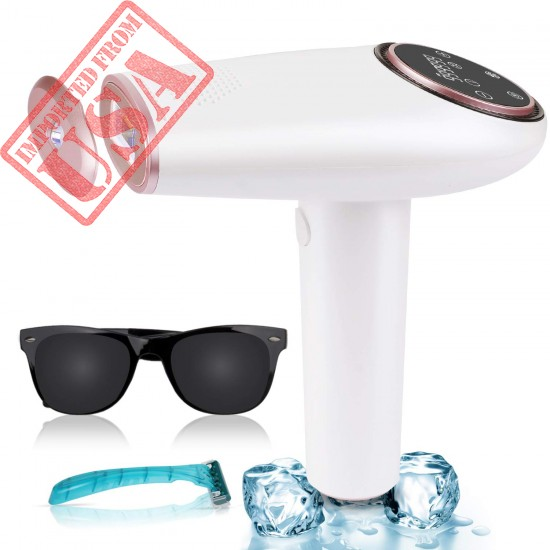 ICE Hair Removal At-Home Permanent Painless Hair Remover Device for Women and Men