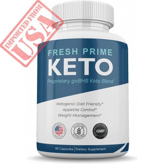 Original Fresh Prime Keto Pills - Ketogenic Diet Friendly - Appetite Control - Weight Management – Sale in Pakistan