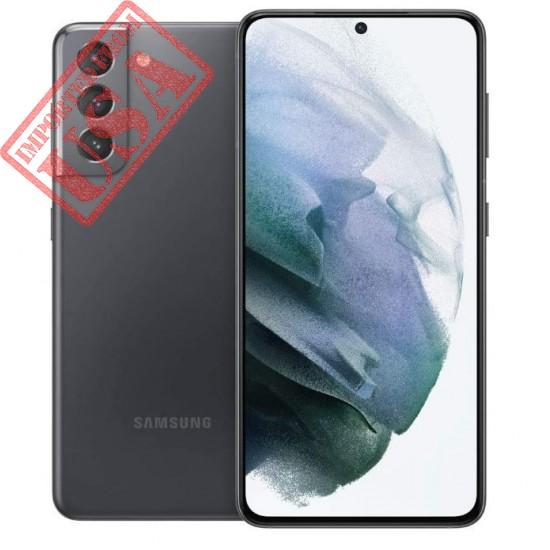 Samsung Galaxy S21 5G | Factory Unlocked Android Cell Phone | US Version 5G Smartphone | Pro-Grade Camera, 8K Video, 64MP High Res | 256GB, Phantom Gray (SM-G991UZAEXAA)
