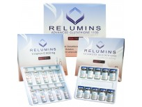 Authentic Relumins Advanced Glutathione 1100mg 10vials - Glutathione & Vitamin C - Sale in Pakistan