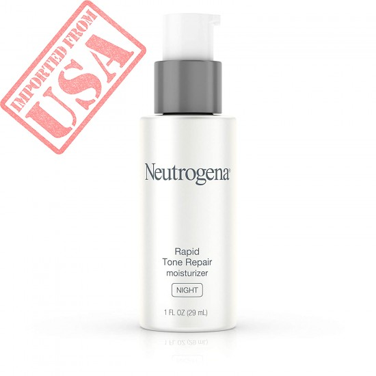Buy Neutrogena Rapid Tone Repair Night Cream with Retinol, Vitamin C and Hyaluronic Acid - Anti Wrinkle Face and Neck Moisturizer Online in Pakistan